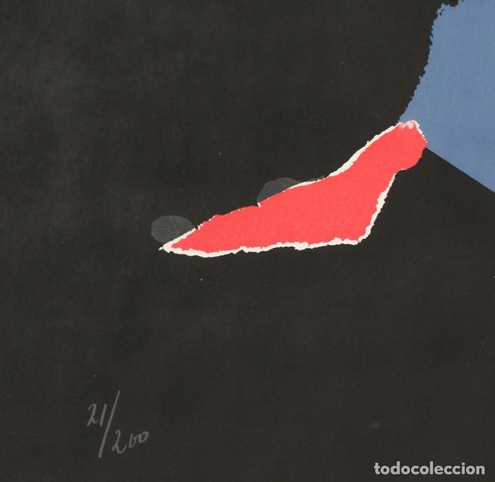 Arte: ANTONIO SAURA- Serigrafia firmada y numerada a mano por el artista -Character -1971 - Foto 4 - 195196945
