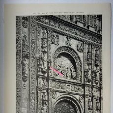 Arte: SALAMANCA. PORTADA DEL CONVENTO DE SAN ESTEBAN.. Lote 195200195