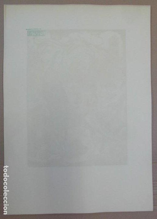 Arte: *Josep Gumí Cardona* Xilografía *Corrida de toros* Meds. papel: 35x70 cms. Sin numerar. Fechado 56. - Foto 9 - 195202360