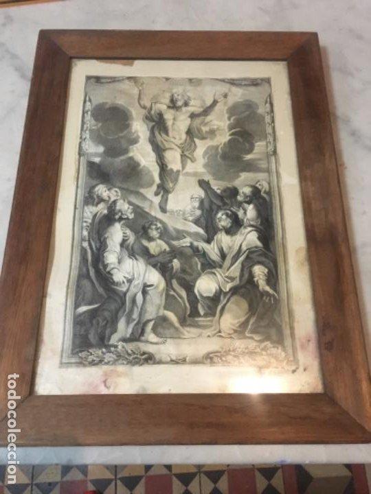 (M) ANTIGUO GRANADO S. XVIII CAROLUS CESIUS INUE ET DEL STEPHANUS PICART SCULP. ROMAE (Arte - Grabados - Antiguos hasta el siglo XVIII)