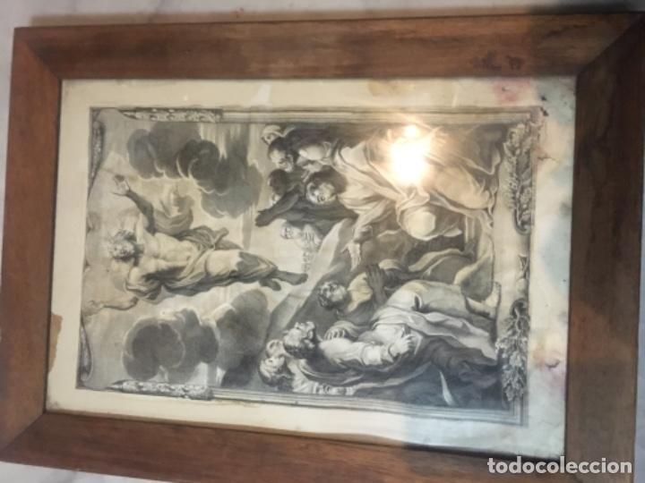 Arte: (M) ANTIGUO GRANADO S. XVIII CAROLUS CESIUS INUE ET DEL STEPHANUS PICART SCULP. ROMAE - Foto 2 - 195205710