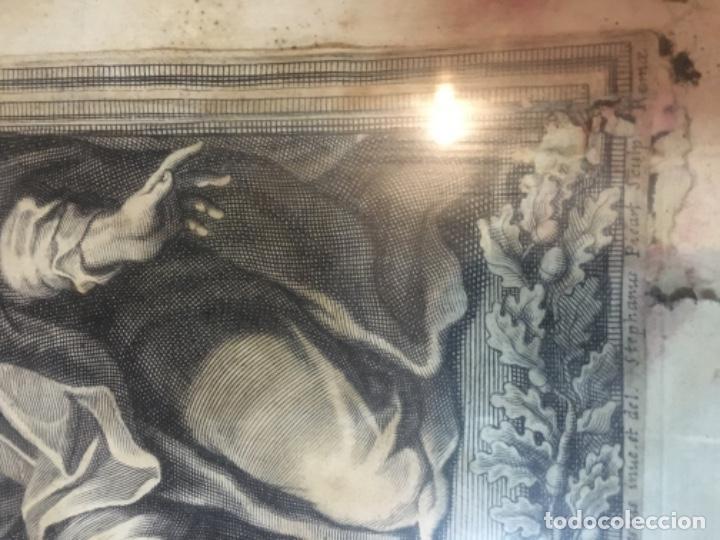 Arte: (M) ANTIGUO GRANADO S. XVIII CAROLUS CESIUS INUE ET DEL STEPHANUS PICART SCULP. ROMAE - Foto 3 - 195205710