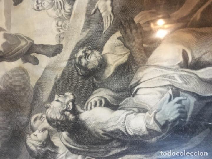 Arte: (M) ANTIGUO GRANADO S. XVIII CAROLUS CESIUS INUE ET DEL STEPHANUS PICART SCULP. ROMAE - Foto 4 - 195205710