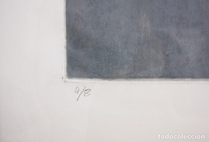Arte: Grabado del artista Constancio Collado - Foto 2 - 195237393