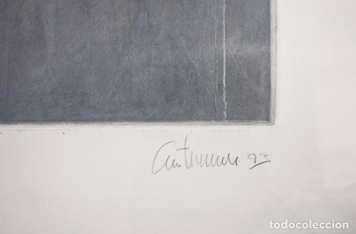 Arte: Grabado del artista Constancio Collado - Foto 3 - 195237393