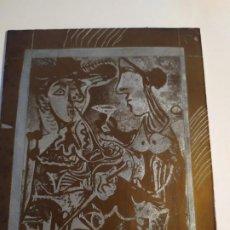 Arte: ULTIMA PLACA COBRE A LA VENTA DE PICASSO . Lote 195260353