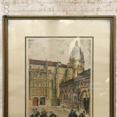 Arte: GRABADO FIRMADO. Lote 195288518