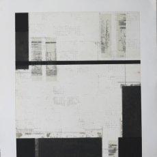 Arte: ENRIQUE BRINKMANN -105X75 CM-GRABADO FIRMADO Y NUMERADO POR EL ARTISTA -. Lote 195379840