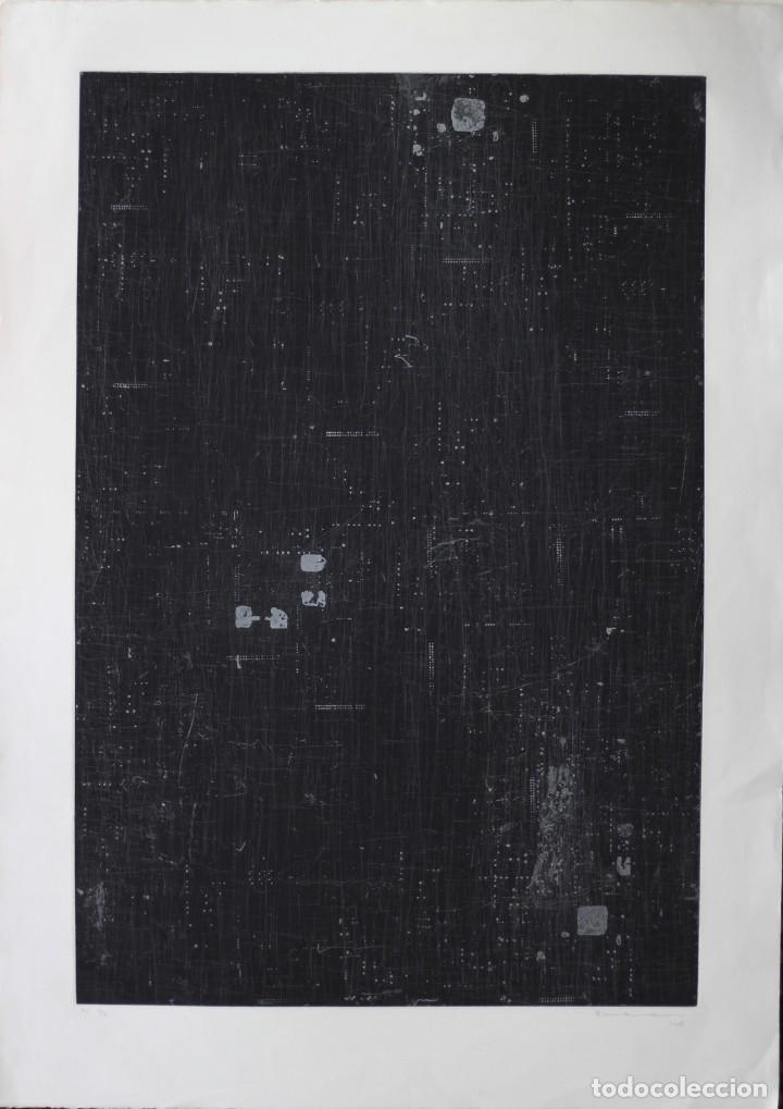 ENRIQUE BRINKMANN. 105X75 CM -GRABADO AGUAFUERTE FIRMADO Y NUMERADO A MANO POR EL ARTISTA - (Arte - Grabados - Contemporáneos siglo XX)