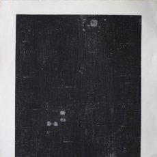 Arte: ENRIQUE BRINKMANN. 105X75 CM -GRABADO AGUAFUERTE FIRMADO Y NUMERADO A MANO POR EL ARTISTA -. Lote 195380692