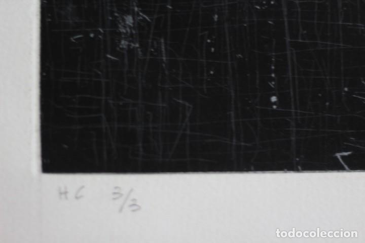 Arte: ENRIQUE BRINKMANN. 105x75 cm -Grabado Aguafuerte firmado y numerado a mano por el artista - - Foto 2 - 195380692