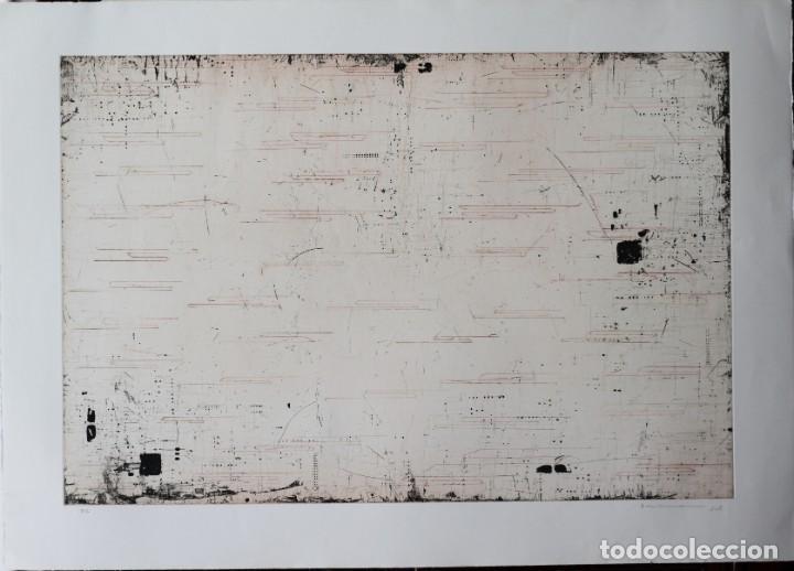 ENRIQUE BRINKMANN- 105X 75 CM GRABADO AGUAFUERTE FIRMADO Y NUMERADO A MANO POR EL ARTISTA - (Arte - Grabados - Contemporáneos siglo XX)