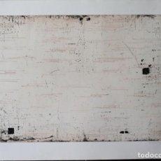 Arte: ENRIQUE BRINKMANN- 105X 75 CM GRABADO AGUAFUERTE FIRMADO Y NUMERADO A MANO POR EL ARTISTA -. Lote 195381512