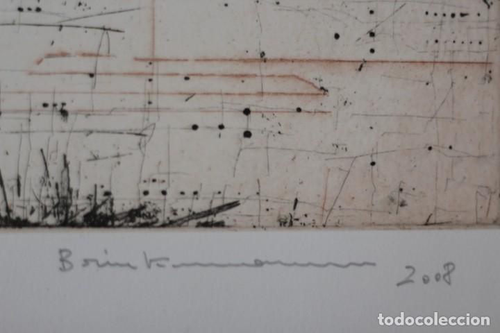 Arte: ENRIQUE BRINKMANN- 105x 75 cm Grabado Aguafuerte firmado y numerado a mano por el artista - - Foto 3 - 195381512