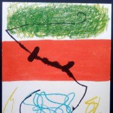 Arte: LITOGRAFÍA JOAN MIRÓ - ELS TRES JOANS 1975. Lote 195486768
