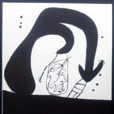 Arte: LITOGRAFÍA JOAN MIRÓ - ELS TRES JOANS 1975. Lote 195487283