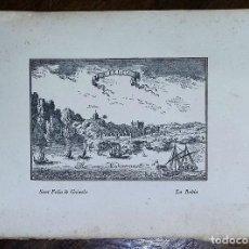 Arte: GRABADO DE SANT FELIU DE GUIXOLS. LA BAHÍA.. Lote 195507545