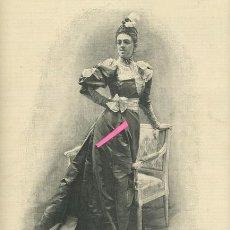 Arte: DOÑA Mª DEL ROSARIO FALCÓ Y OSORIO. DUQUESA DE ALBA.. Lote 195529947