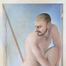 Arte: GUILLERMO PEREZ VILLALTA. LITOGRAFÍA ORIGINAL FIRMADA Y NUMERADA. OLIMPIADAS BARCELONA 92. Lote 195587418
