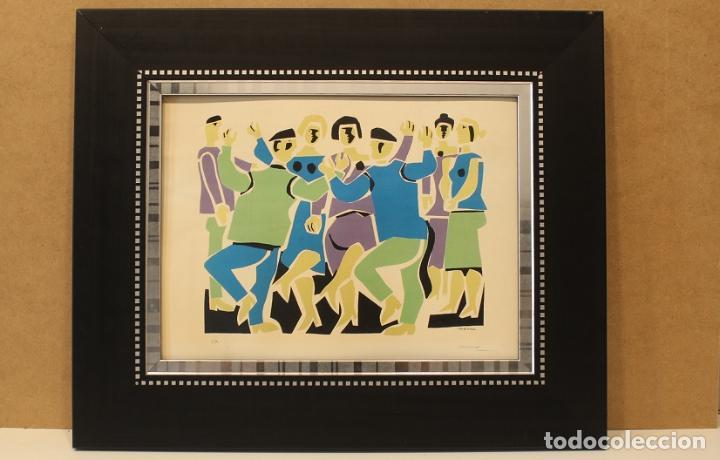 LUIS SEOANE, GRABADO (Arte - Grabados - Contemporáneos siglo XX)