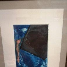 Arte: JOAQUÍN CAPA AGUAFUERTE ORIGINAL NUMERADO. Lote 196252262