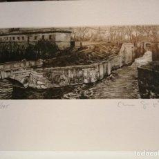 Arte: CLARA GANGUTIA GRABADO. Lote 196338961