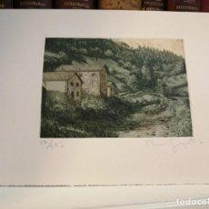 Arte: CLARA GANGUTIA GRABADO. Lote 196339251