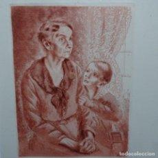 Arte: GRABADO-AGUAFUERTE DE FRANCESC DOMINGO.. Lote 196392357