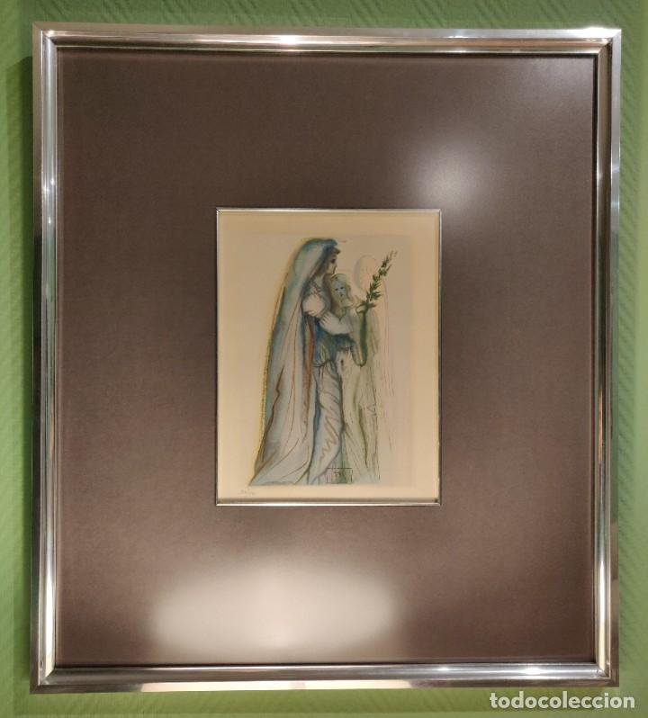 Arte: Dalí. Divina Comedia. Paraiso. Canto 32. Xilografía. Firmado en plancha. Numerada: 284/500 - Foto 2 - 196669226