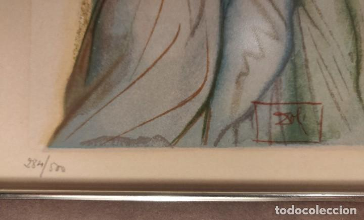 Arte: Dalí. Divina Comedia. Paraiso. Canto 32. Xilografía. Firmado en plancha. Numerada: 284/500 - Foto 4 - 196669226