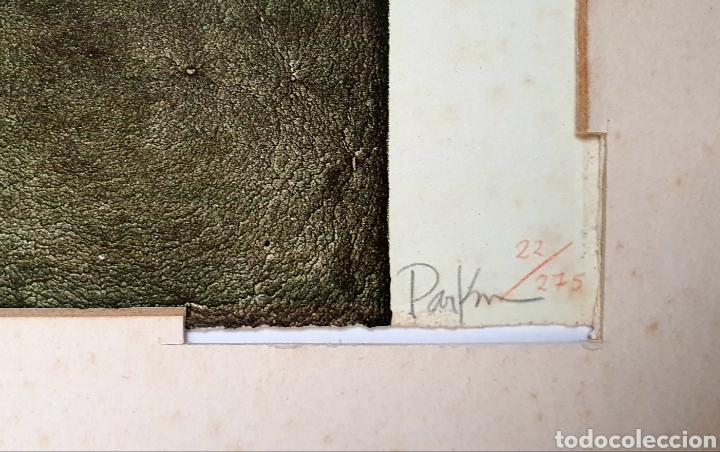 Arte: Michael Parkes (Missouri, USA 1946) preciosa litografía numerada y firmada. - Foto 3 - 195050350