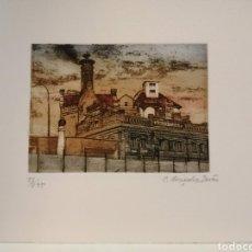 Arte: CARLOS GONCALVES DURAO GRABADO. Lote 196952366