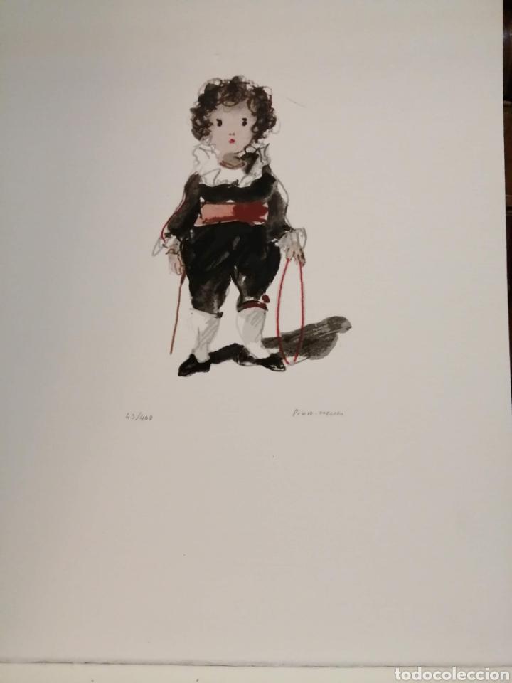 LUIS PINTO COEHLO, PINTOR PORTUGUÉS ARCO (Arte - Grabados - Contemporáneos siglo XX)