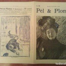 Arte: FACSIMIL CUBIERTAS PÈL & PLOMA Nº 28. Lote 197238038