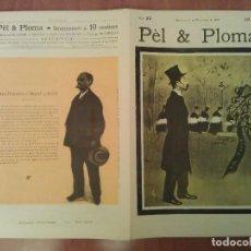 Arte: FACSIMIL CUBIERTAS PÈL & PLOMA Nº 23. Lote 197238696