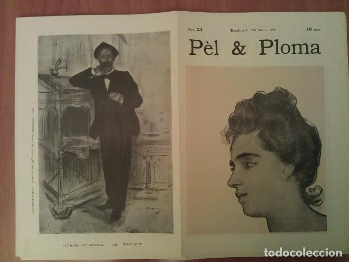 FACSIMIL CUBIERTAS PÈL & PLOMA Nº 21 (Arte - Grabados - Contemporáneos siglo XX)