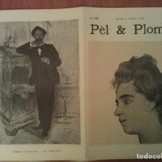 Arte: FACSIMIL CUBIERTAS PÈL & PLOMA Nº 21. Lote 197238858