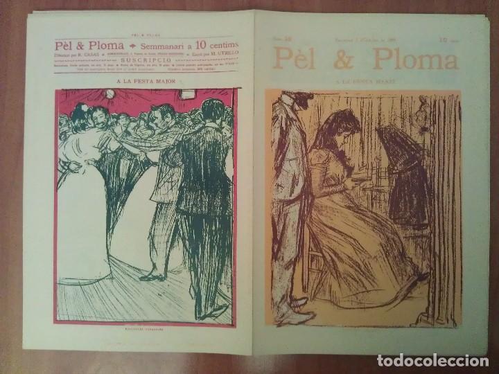 FACSIMIL CUBIERTAS PÈL & PLOMA Nº 19 (Arte - Grabados - Contemporáneos siglo XX)