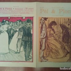 Arte: FACSIMIL CUBIERTAS PÈL & PLOMA Nº 19. Lote 197239065