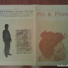 Arte: FACSIMIL CUBIERTAS PÈL & PLOMA Nº 17. Lote 197239221