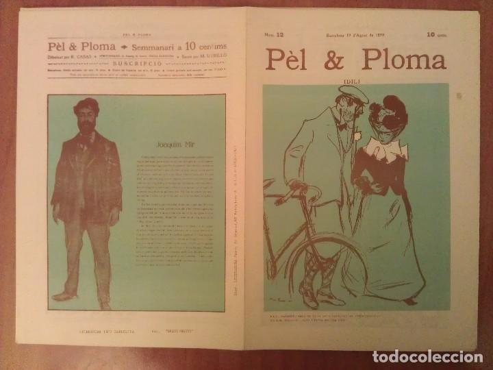 FACSIMIL CUBIERTAS PÈL & PLOMA Nº 12 (Arte - Grabados - Contemporáneos siglo XX)