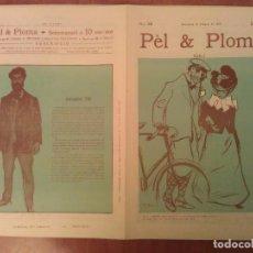Arte: FACSIMIL CUBIERTAS PÈL & PLOMA Nº 12. Lote 197239865
