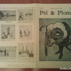 Arte: FACSIMIL CUBIERTAS PÈL & PLOMA Nº 8. Lote 197240188