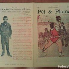 Arte: FACSIMIL CUBIERTAS PÈL & PLOMA Nº 6. Lote 197240338