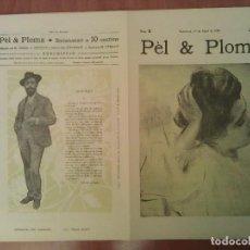 Arte: FACSIMIL CUBIERTAS PÈL & PLOMA Nº 5. Lote 197240507