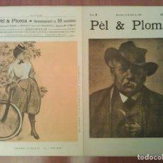 Arte: FACSIMIL CUBIERTAS PÈL & PLOMA Nº 2. Lote 197253751
