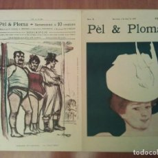 Arte: FACSIMIL CUBIERTAS PÈL & PLOMA Nº 1. Lote 197253811
