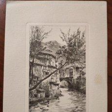 Arte: GRABADO. SÓLLER. SOBRE UN GRABADO DE LETTERS FROM MAJORCA DE CHARLES WOOD.. Lote 197338743