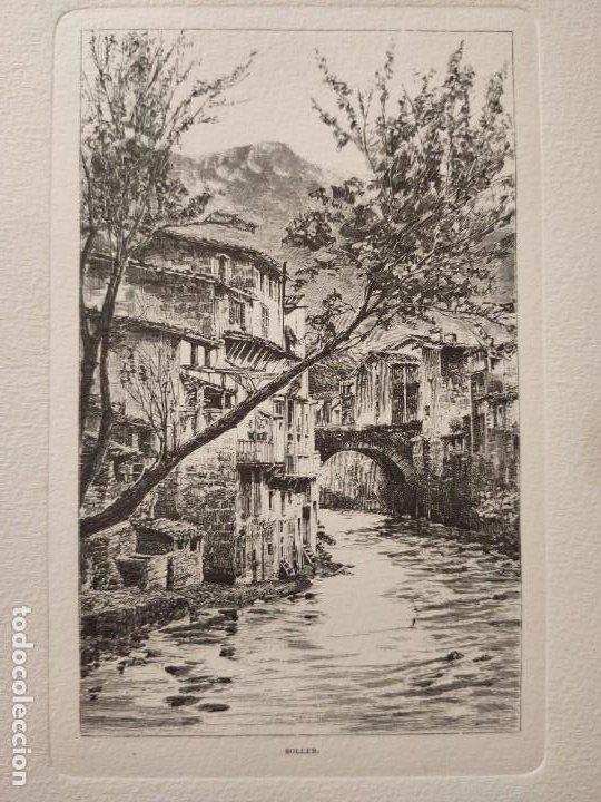 Arte: GRABADO. SÓLLER. SOBRE UN GRABADO DE LETTERS FROM MAJORCA DE CHARLES WOOD. - Foto 2 - 197338743