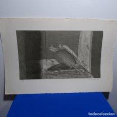Arte: GRABADO DE PERE PUIGGROS 1978.34/100.. Lote 197671742